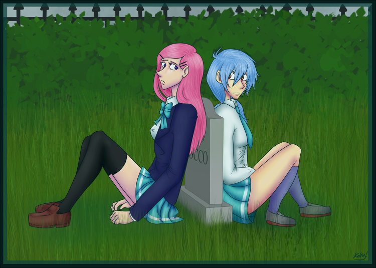 June and Anya from keltyzoid!